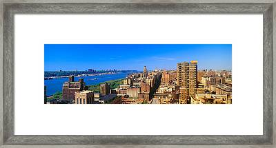 Upper West Side, Manhattan, New York Framed Print by Panoramic Images