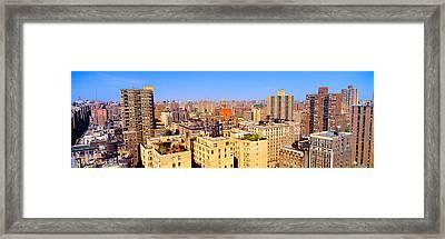 Upper West Side, Manhattan, New York+b3 Framed Print