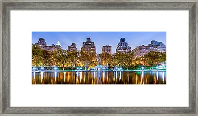 Upper East Side Reflections Framed Print