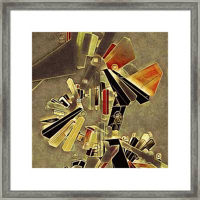 Upper West Side Framed Print