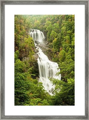 Upper Whitewater Falls Framed Print