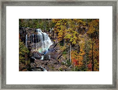 Upper Whitewater Falls Framed Print by Rob Travis