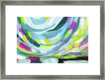 Uprise- Art By Linda Woods Framed Print by Linda Woods