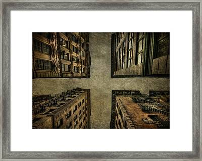 Uprising Framed Print by Evelina Kremsdorf