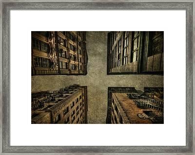 Uprising Framed Print by Evelina Kremsdorf