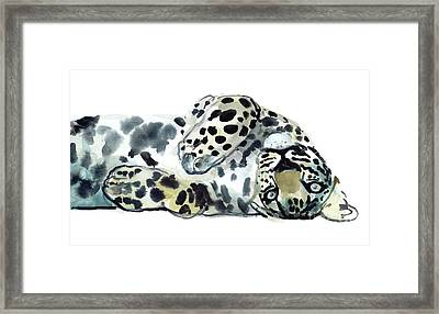 Upside Down Framed Print by Mark Adlington