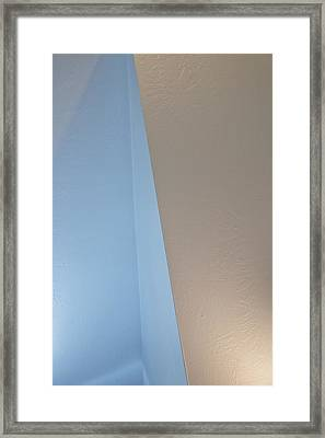Upstairs Room Abstract 1 Framed Print