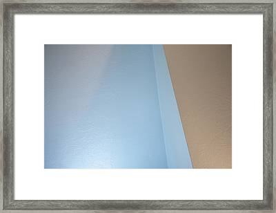 Upstairs Room Abstract 2 Framed Print