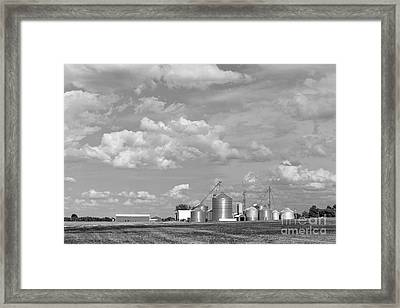 Upstate New York Farm Framed Print by Edward Fielding