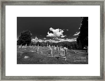 Upstate New York History Framed Print