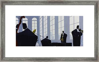 Uptown Hall Recital Framed Print