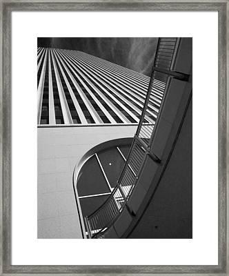 Upward And Outward Framed Print by William Oswald