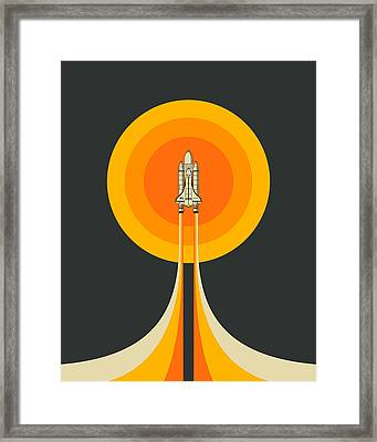 Upward Framed Print