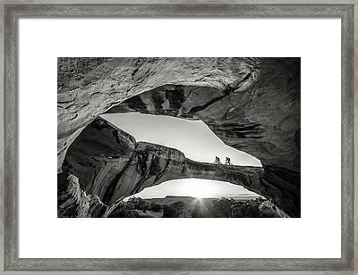 Uranium Arch Framed Print