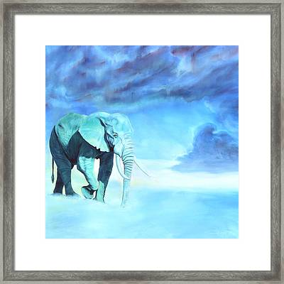 Uranus Framed Print by Sarah Soward