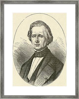 Urbain Jean Joseph Le Verrier, 1811 Framed Print