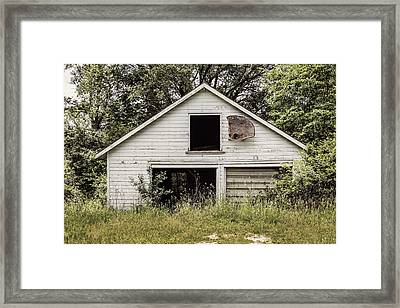 Urban Abandonment 3 Framed Print