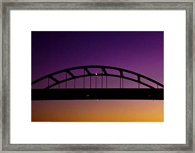 Framed Print featuring the photograph Urban Abstract 16 by Michael Nowotny