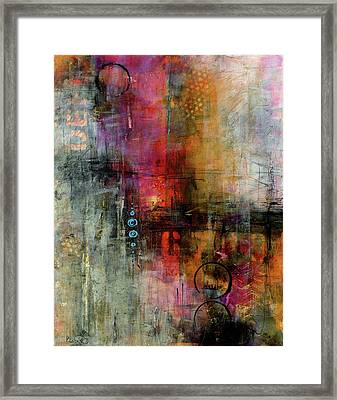 Urban Abstract Color 2 Framed Print