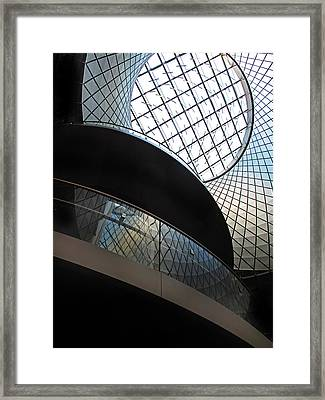 Urban Abstract Framed Print by Jessica Jenney