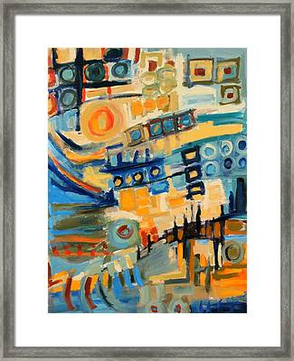 Urban Abstract Framed Print by Maggis Art