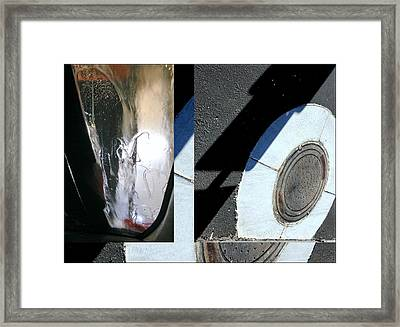 Urban Abstract Seeing Double 83 Framed Print
