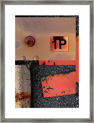 Urban Abstracts Seeing Double 55 Framed Print