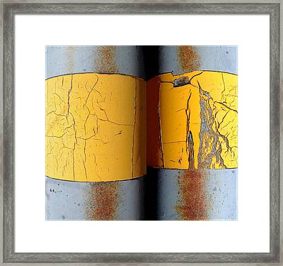 Urban Abstracts Seeing Double 60 Framed Print