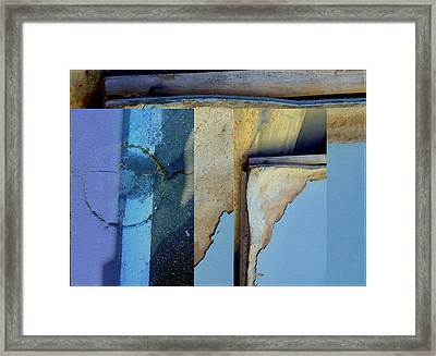 Urban Abstracts Seeing Double 62 Framed Print