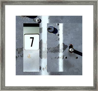 Urban Abstracts Seeing Double 63 Framed Print