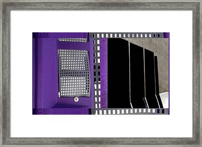 Urban Abstracts Seeing Double 66 Framed Print