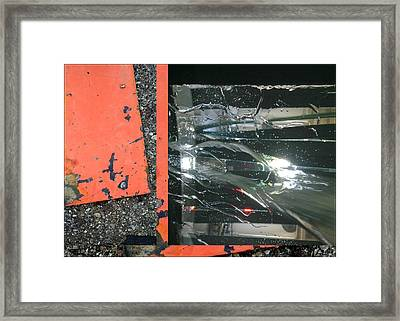 Urban Abstracts Seeing Double 67 Framed Print
