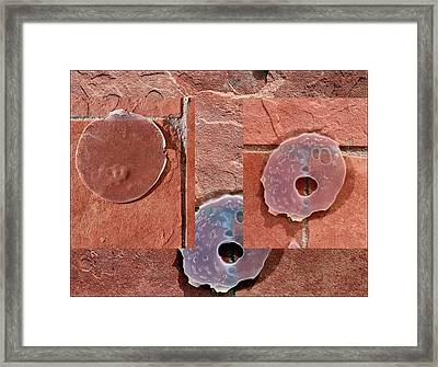 Urban Abstracts Seeing Double 75 Framed Print