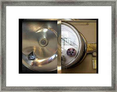 Urban Abstracts Seeing Double 76 Framed Print