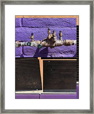 Urban Abstracts Seeing Double 79 Framed Print
