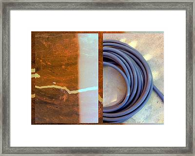 Urban Abstracts Seeing Double 82 Framed Print