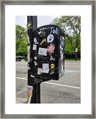 Urban Art Chicago Framed Print