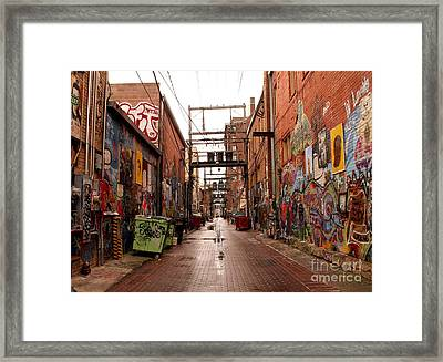 Urban Art Framed Print