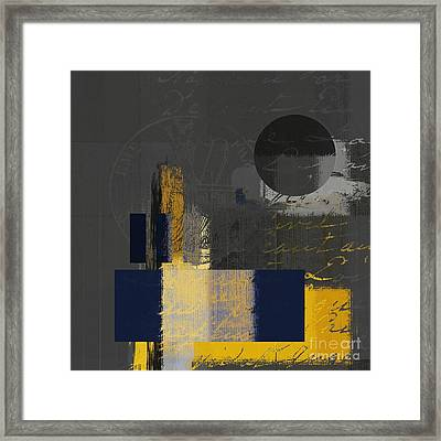 Urban Artan - Spsp11 Framed Print by Variance Collections