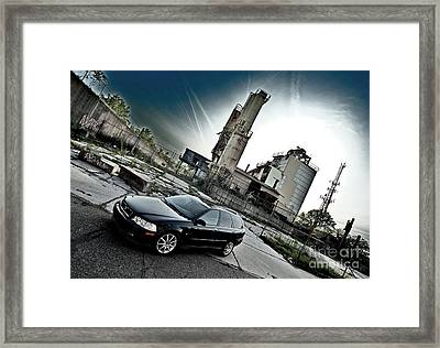 Urban Background Framed Print
