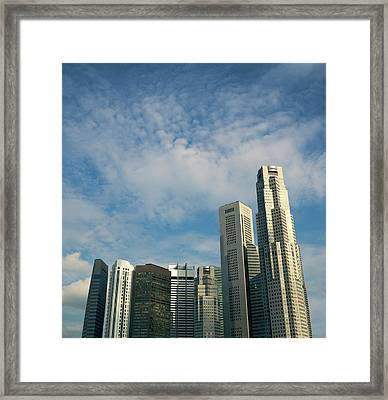 Urban Block Framed Print
