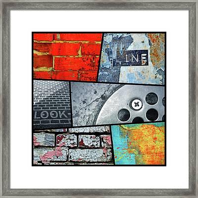 Urban Colours 2 Framed Print