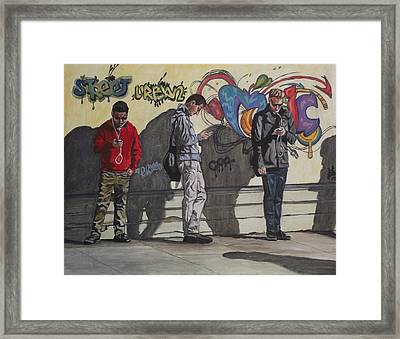 Urban Connection Framed Print by Kim Selig