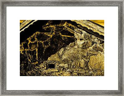 Urban Country Old House Framed Print