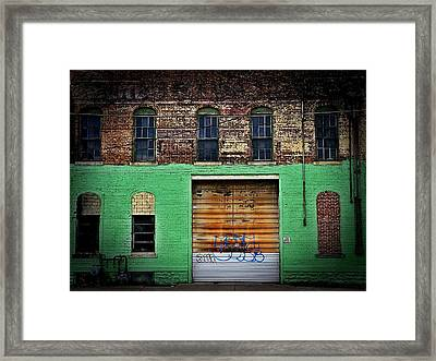 Urban Decay Dayton, Ohio City Of Apathy  Framed Print by Michael L Kimble
