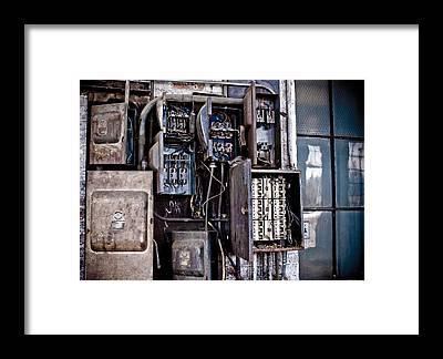 fuse box framed prints
