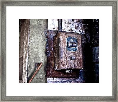 Urban Decay  Start And Stop Box Framed Print