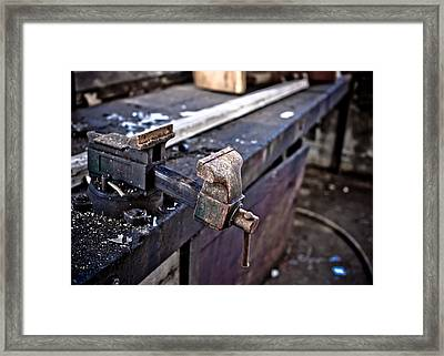 Urban Decay  The Vice Framed Print by Edward Myers