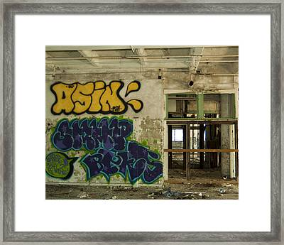 Urban Decay Framed Print by Timothy Hedges
