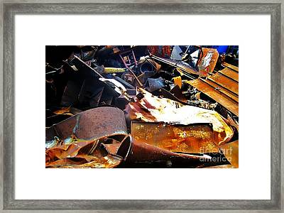 Urban Deconstruction Framed Print by Reb Frost